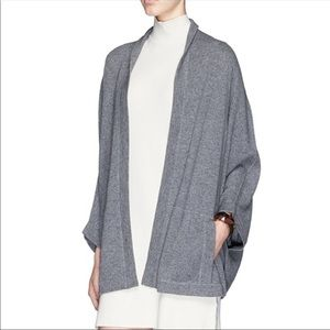 Vince 100% Cashmere Luxe Poncho Cape Cardigan XS/S